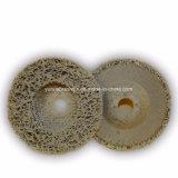 Resina de abrasivos aglomerados da tampa do disco de corte de diamante para metais