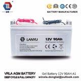 Солнечная батарея 12V90ah глубокого цикла высокого качества Lanyu свинцовокислотная