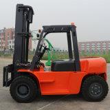 Nieuwe Diesel van de Prijs van 6 Ton Hand Goedkope Vorkheftruck met Motor Isuzu