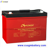 12V 100ah tiefe Schleife-Gel-Batterie, Cspower Backup-Batterie