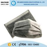 Fuera de Anti Contaminación negro de carbón activo de la máscara facial
