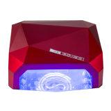 휴대용 36W 다이아몬드 CCFL LED UV 램프 빠른 못 건조기
