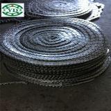 Corrente transportadora da corrente da transmissão da corrente do rolo do aço inoxidável