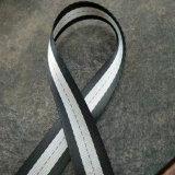 의복을%s 단화를 위한 부대를 위한 폴리에스테 줄무늬 가죽 끈
