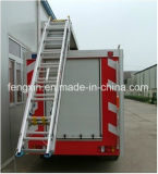 O caminhão Emergency do salvamento parte a escada especial do alumínio dos acessórios dos veículos