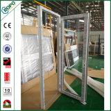 Belüftung-französisches einzelnes Plastikpanel-innere Öffnungs-Flügelfenster-Patio-Tür
