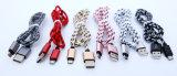 Нейлон сотка кабель Sync данным по зарядного кабеля USB 2A