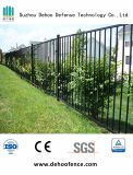 Clôtures de jardin en acier noir avec une haute qualité