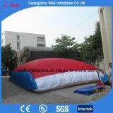 Sacco ad aria di salto gonfiabile del grande sacchetto gonfiabile di prodezza per il salto di sci della bici e di Freedrop