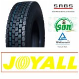 12r22.5 11r22.5 295/80r22.5 315/80r22.5 Joyall 상표 드라이브 위치 광선 트럭 타이어