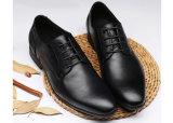 Zapatos de alineada del calzado del holgazán de los hombres del cuero genuino de China
