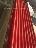 Colourbond runzelte Dach-Eisen-Blatt/buntes gewölbtes Dach-Blatt