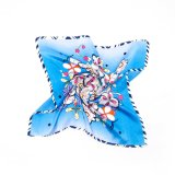 Digital-Drucken-Dame Vintage Silk Scarf