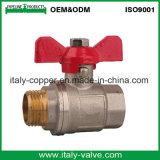 L'ottone italiano di Ce&ISO ha forgiato la valvola a sfera maschio (AV-BV-1044)