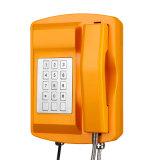 Sistema impermeável do atendimento Emergency do telefone Knsp-18 para serviços do petróleo & de gás