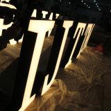 LED 채널 편지 표시 마스크 Lit에 의하여 날조되는 표시