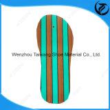 최신 인기 상품 유행 다색 줄무늬 슬리퍼 발바닥