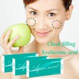 Seringa do ácido hialurónico do uso da face e do corpo