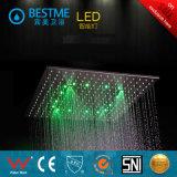 Latón de alta calidad ocultas ducha con luces LED (BF-60104)
