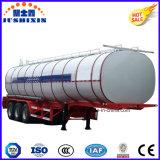 3-Axle 33000L Aluminiumbecken-halb Schlussteil für Kraftstoff-Transport