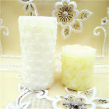 Pilar Jarra de cristal de la Vela Perfumada de cera de soja Decoración de Navidad