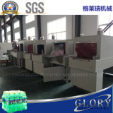 Macchina imballatrice semiautomatica di imballaggio con involucro termocontrattile del traforo di calore