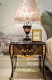 0070-1純木は光沢度の高い絵画ベッド部屋のコレクションで贅沢なベニヤを覆った