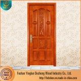 Una sola puerta de madera de Desheng Grill Diseño para el mercado de Etiopía