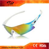 Het Cirkelen van Ce van de Vrouwen van de Mannen van Eyewear Sunglass van de Sporten van de manier de Randloze UV Openlucht Berijdende Beschermende brillen van de Fiets van de Fiets van Glazen