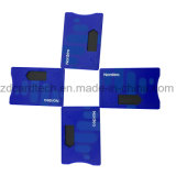 La RFID personnalisé détenteur de carte de crédit en plastique avec ABS Manchons de carte