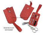 Conjunto de manicura del recorrido del clavo de la cizalla de las herramientas del cuidado del clavo del fichero de Pedicure