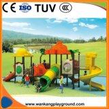 Les enfants jouer en plein air en plastique de gros de la diapositive jouet pour Park (SEM-A1230)