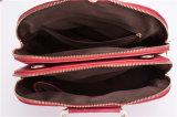 Saco de ombro de couro de costura da senhora Bolsa do plutônio do saco do saco do escudo da forma