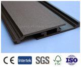 UV 저항하는 방수 WPC 벽면 목제 플라스틱 벽 클래딩