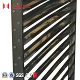 4 tester di altezza di alluminio della lega di finestra della feritoia per il serbatoio di acqua