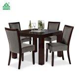 Tabela de jantar de madeira da mobília do hotel com cadeiras