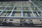 Fase di vetro di alluminio portatile della strumentazione di vetro della fase con il caso di volo