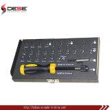 комплект бита cr-V или материальный отвертки S2 гнезда 28PCS 1/я 25mm установленный