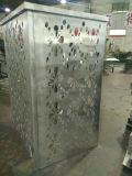 Het aluminium sneed de Dekking van de Airconditioner van het Comité