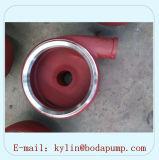 높은 크롬 합금 원심 슬러리 펌프 부속 벌류트 강선