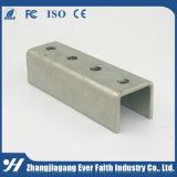 直接中国の工場は電流を通されたCのタイプチャネルの鋼鉄を提供する