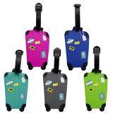 Gepäck-Marke Form Soem-Silicone/PVC für Kennsatz-Marke