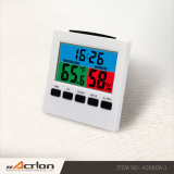 This RoHS Weather Station Calendar Desk Clock with Color Display