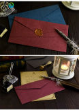 Stampa di carta operata su ordinazione della busta con l'oro sventato