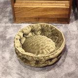 مستديرة رفاهية سرير لأنّ كلب محبوب مستديرة ذاكرة زبد تجبيريّ كلب سرير