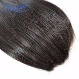 Оптовое перуанское прямо выдвижение 100% человеческих волос девственницы