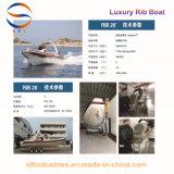 ' Luxuxrippen-Boot der yacht-28