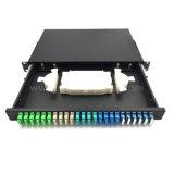 Faser-Optiksc-Duplexfaser 24port, die Änderung- am Objektprogrammpanel-Faser ODF schiebt