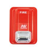 sistema di segnalatore d'incendio di incendio chiaro dello stroboscopio LED del ricevitore acustico 24V