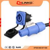 Tela LED 3Pino Piscina Powercon Plug /Conector do Soquete